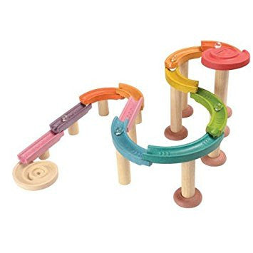 Plan Toys Deluxe Wooden Marble Run Set - Crunch Natural Parenting is where to buy