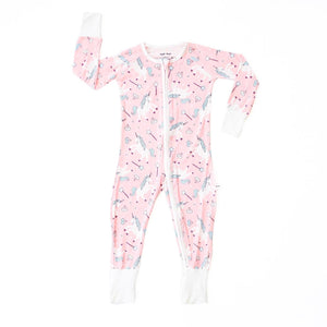 Little Sleepies - Unicorn convertible romper/sleeper - Crunch Natural Parenting is where to buy