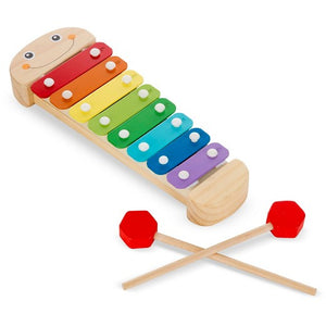 Wooden Caterpillar Xylophone - Crunch Natural Parenting is where to buy