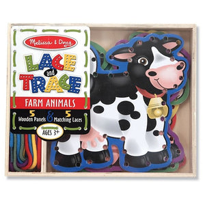Lace and Trace Farm Animals - Crunch Natural Parenting is where to buy