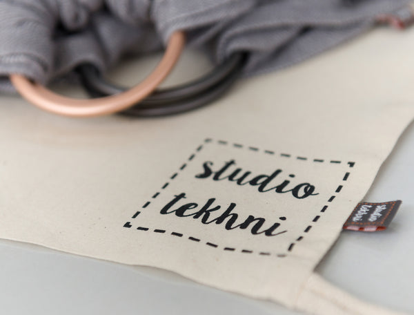Studio Tekhni - The Sling Baby Carrier | Graphite + Grey