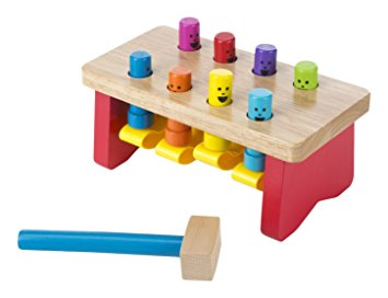 Deluxe Pounding Bench Toddler Toy - Crunch Natural Parenting is where to buy
