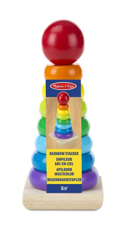 Rainbow Stacker Classic Toy - Crunch Natural Parenting is where to buy