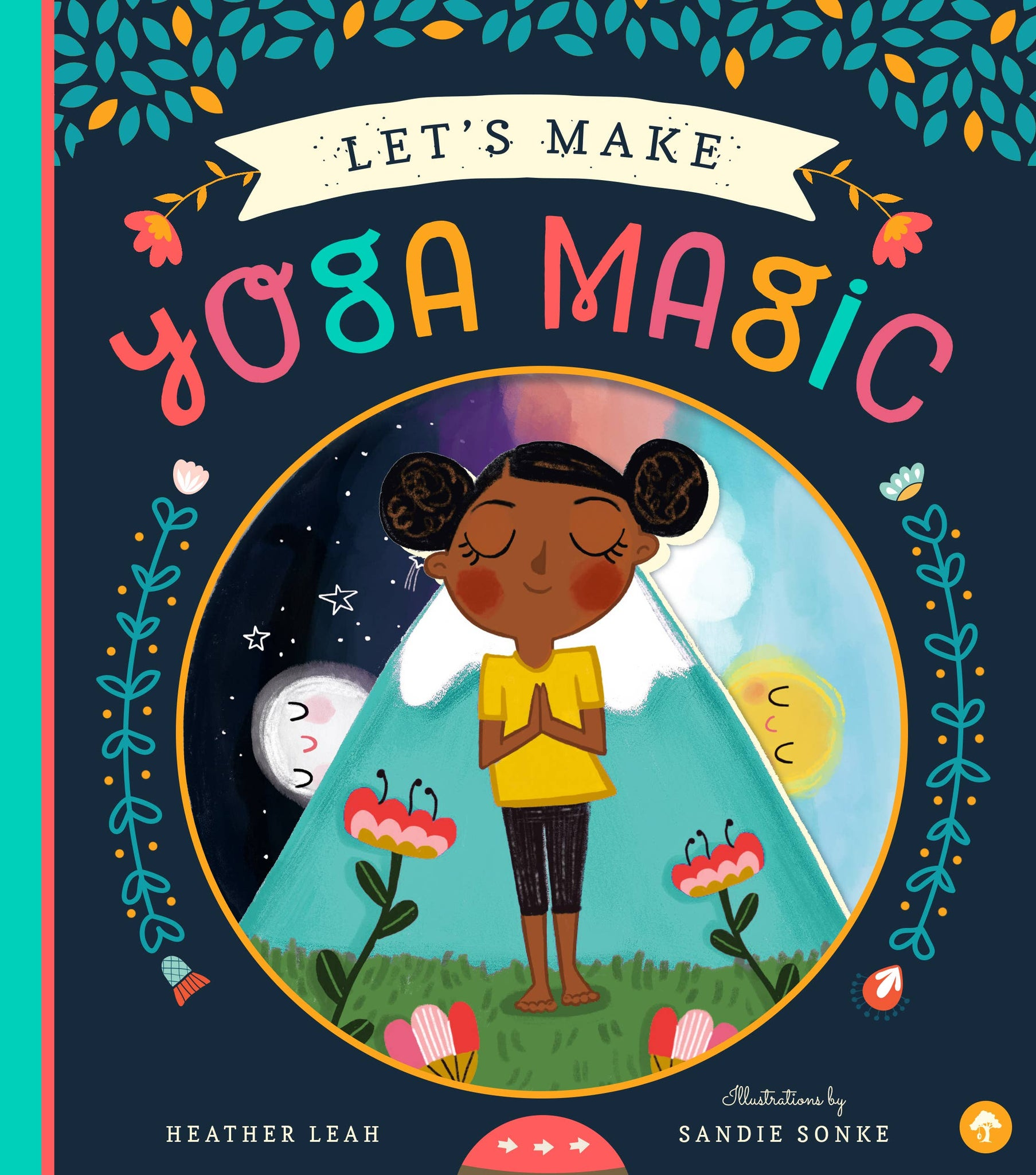 Let's Make Yoga Magic Board Book - Crunch Natural Parenting is where to buy
