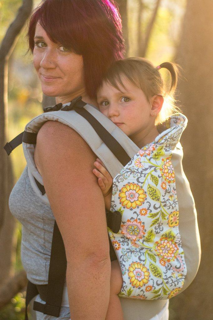 Infant Size/Standard Straps Kinderpack Carrier - Belladonna with Koolnit - Crunch Natural Parenting is where to buy