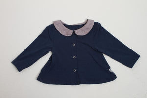 East Side Cardigan - Navy