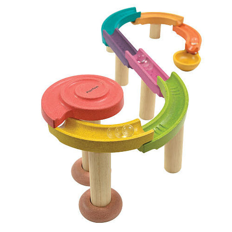 Plan Toys Wooden Marble Run Set - Crunch Natural Parenting is where to buy