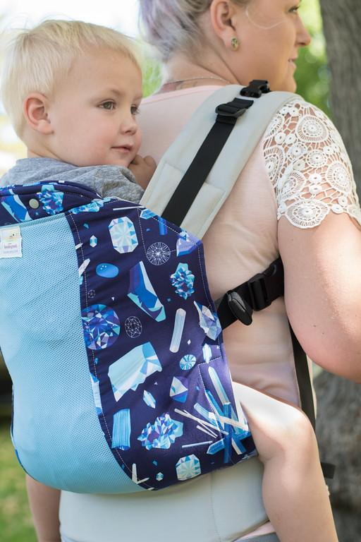 Standard Size/Plus Straps Kinderpack Carrier  - In The Rough with Koolnit - Crunch Natural Parenting is where to buy