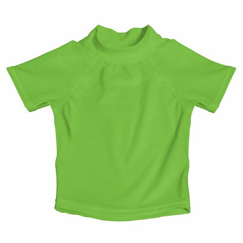 My Swim Baby Rash Guard UV Shirt - Lime Green - Crunch Natural Parenting is where to buy