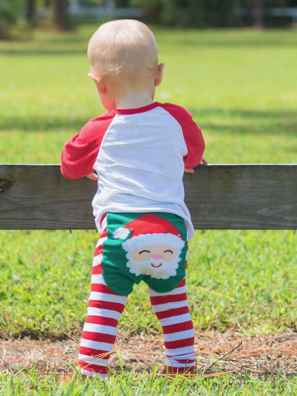 Doodle Pants Santa Leggings - Crunch Natural Parenting is where to buy