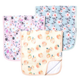 Premium Burp Cloths 3 Pack - Morgan