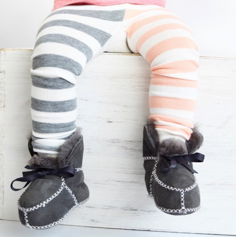 Pink Elephant Cotton Leggings - Crunch Natural Parenting is where to buy