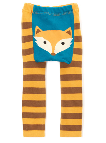 Doodle Pants Woodland Fox Leggings - Crunch Natural Parenting is where to buy