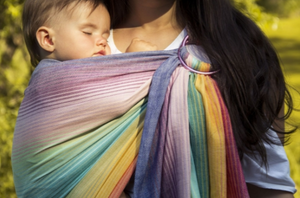 Girasol Rainbow Dreamer Ring Sling - Crunch Natural Parenting is where to buy