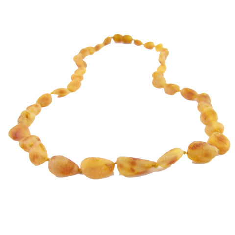 Raw Honey Bean Amber Necklace - Crunch Natural Parenting is where to buy