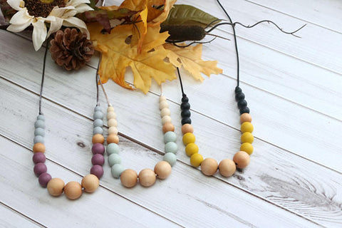 Getting Sew Crafty - Silicone Teething Necklace Isla - Crunch Natural Parenting is where to buy