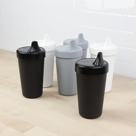 Re-Play Toddler Tableware - Monochrome No Spill Cups