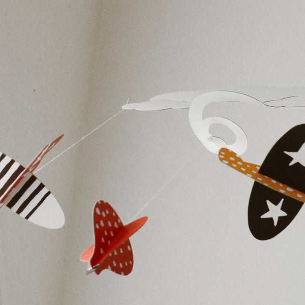 Wee Gallery In The Clouds Spiral Mobile - Crunch Natural Parenting is where to buy