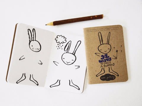 Wee Gallery has the cutest stuff, like this Bunny activity book. 32 Ways to Dress a Bunny is a great way for kids to entertain themselves on the go.