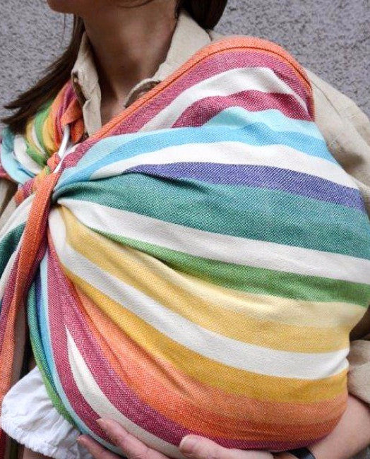 Girasol Ring Sling - Alegria Crema - Crunch Natural Parenting is where to buy