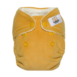 GroVia Buttah Newborn All in One Diaper - Yarrow - Crunch Natural Parenting is where to buy