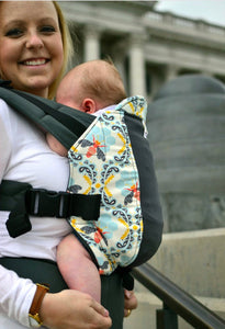 Infant Size/Plus Straps Kinderpack Carrier - Bee Sweet with Koolnit - Crunch Natural Parenting is where to buy