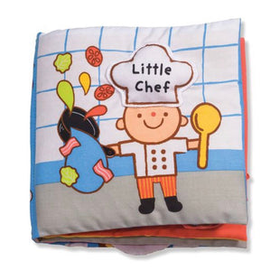 Soft Activity Book - Little Chef - Crunch Natural Parenting is where to buy