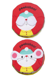 Soft Activity Book - Peekaboo - Crunch Natural Parenting is where to buy
