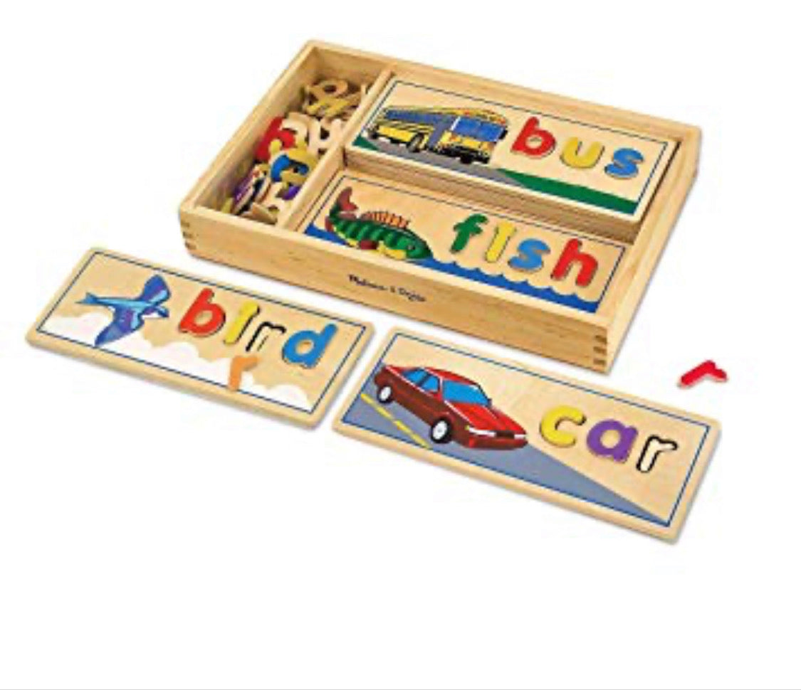 Melissa and Doug See and Spell - Crunch Natural Parenting is where to buy