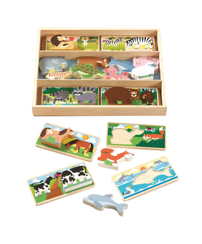 Animal Picture Boards - Crunch Natural Parenting is where to buy