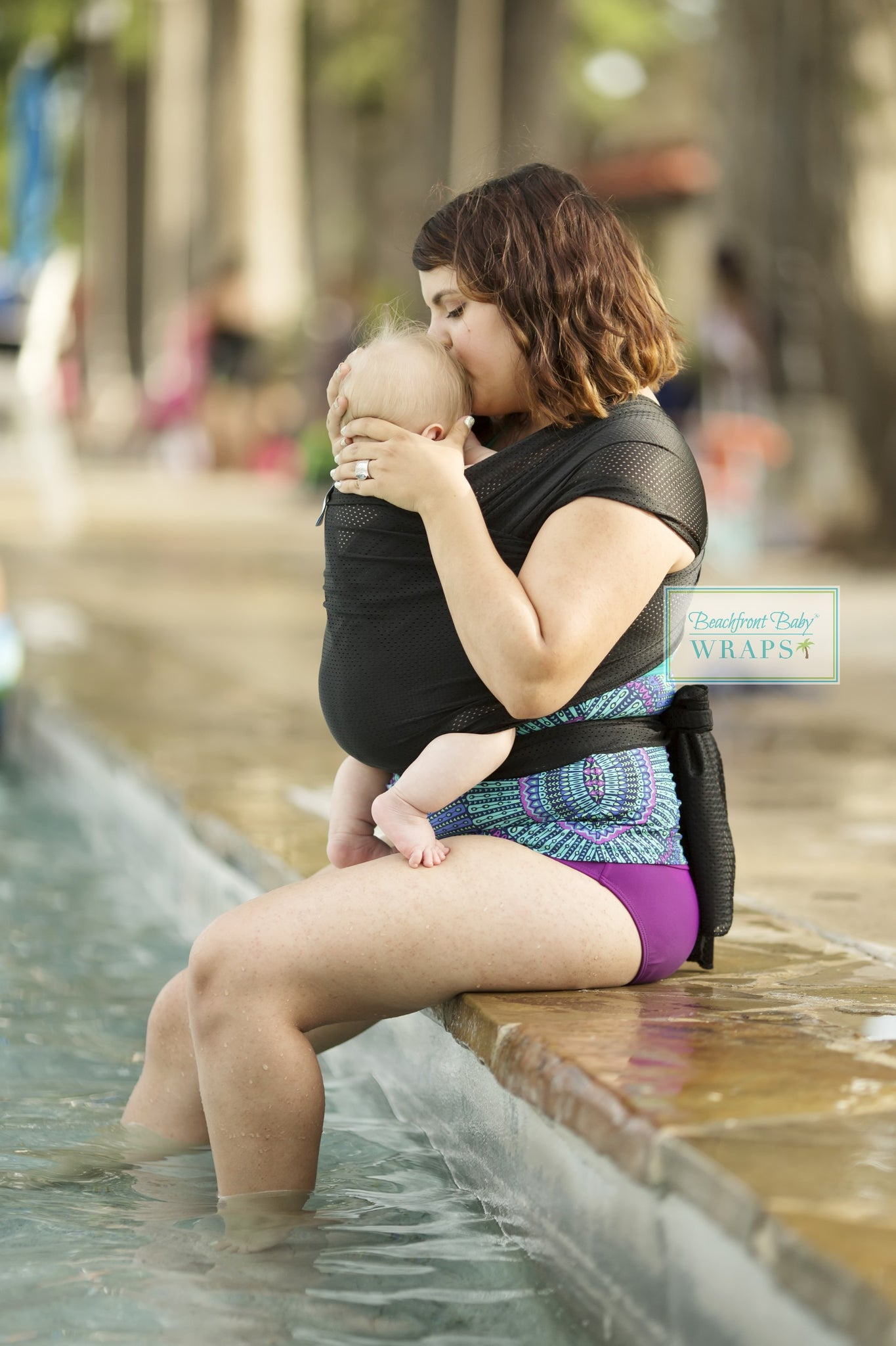 Beachfront Baby One Size Water Wrap - Midnight Sky - Crunch Natural Parenting is where to buy