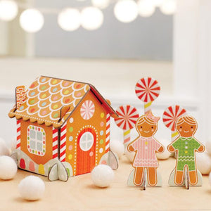 Gingerbread House Pop-Out Play Set - Crunch Natural Parenting is where to buy
