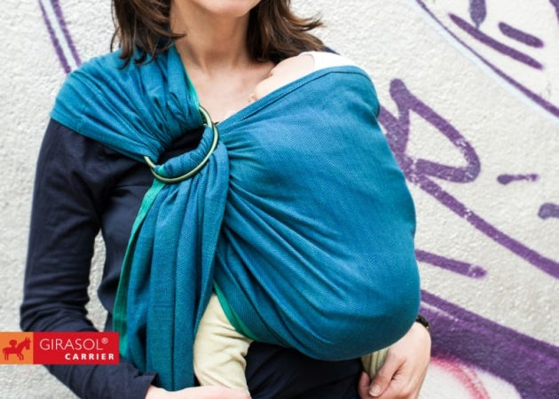 Girasol Ring Sling - Atlantico - Crunch Natural Parenting is where to buy