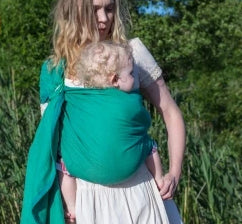 Girasol Ring Sling - Verde - Crunch Natural Parenting is where to buy