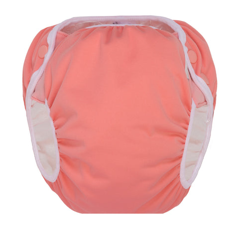 GroVia Swim Diaper - Rose - Crunch Natural Parenting is where to buy