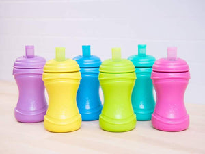 Re-Play Toddler Tableware - Soft Spout Sippy Cups