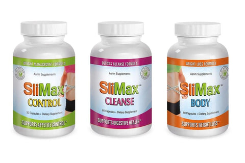 Slimax Weight Loss Fut Burn Formula Extreme Slim Cleans Control Kit 30 day Supply