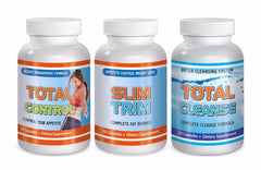 Slimax Total Weight Loss Diet Fut Burn Solution Slim Trim Cleanse Control Kit