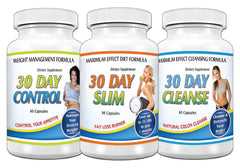 Slimax 30 Day Weight Loss Solution Kit Cleanse Slim Control