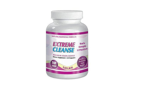 Slimax Extreme Cleanse Maximum Colon Control  Weight Loss Pills
