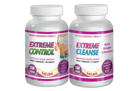 Slimax Extreme Cleanse - Control System  Weight Loss Pills