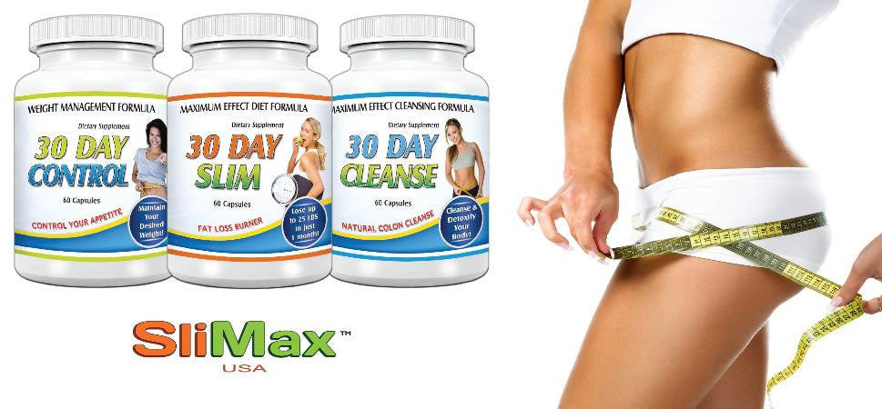 Slimax 30 Day Weight Loss Solution