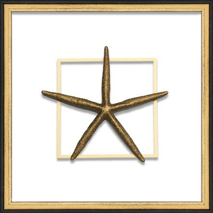 Gold Large Starfish - WJC Design