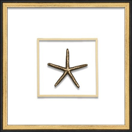 Gold Small Starfish - WJC Design