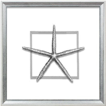 Silver Large Starfish - WJC Design