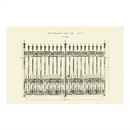 Gate Prints - WJC Design