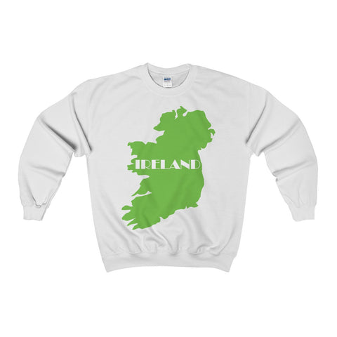 Ireland Adult Crewneck Sweatshirt for St. Patrick's Day - Multiple Colors