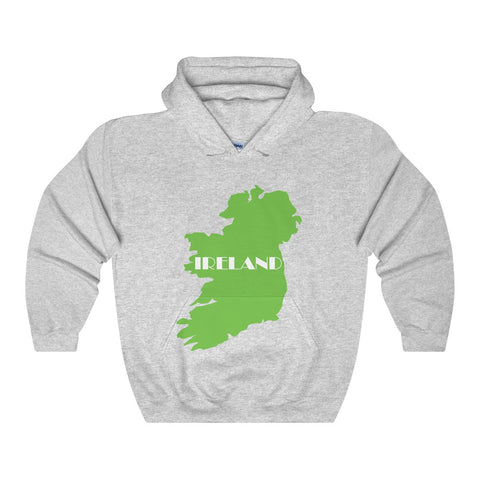 Ireland Hooded Sweatshirt for St. Patrick's Day - Multiple Colors