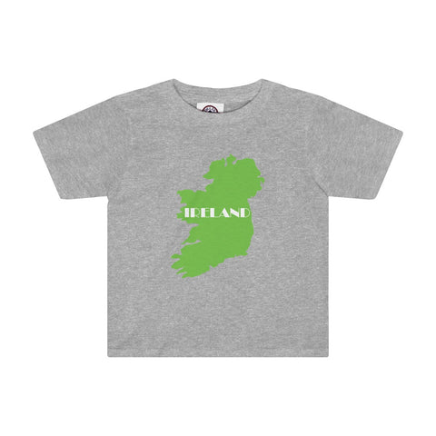 Ireland Toddler Tee for St. Patrick's Day - Multiple Colors