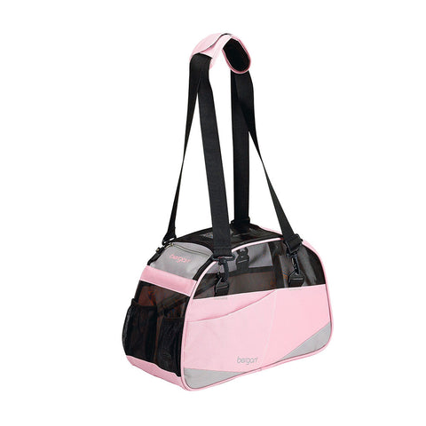 "Bergan Voyager Pet Carrier Small Pink 12"" x 8"" x 17"""